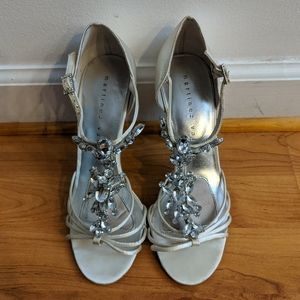 Martinez Valero Wedding Heels Size 7